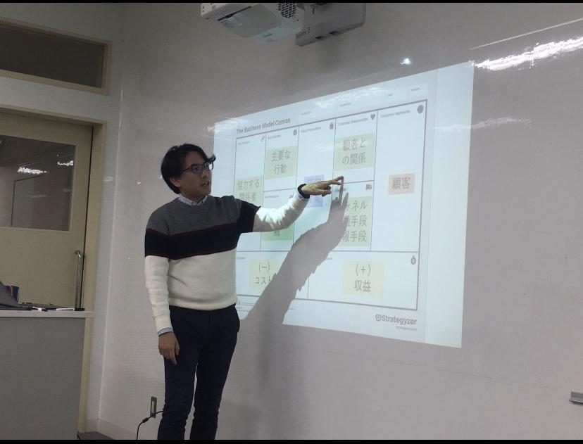 神戸市立外国語大学でのデザイン思考+ワークショップ