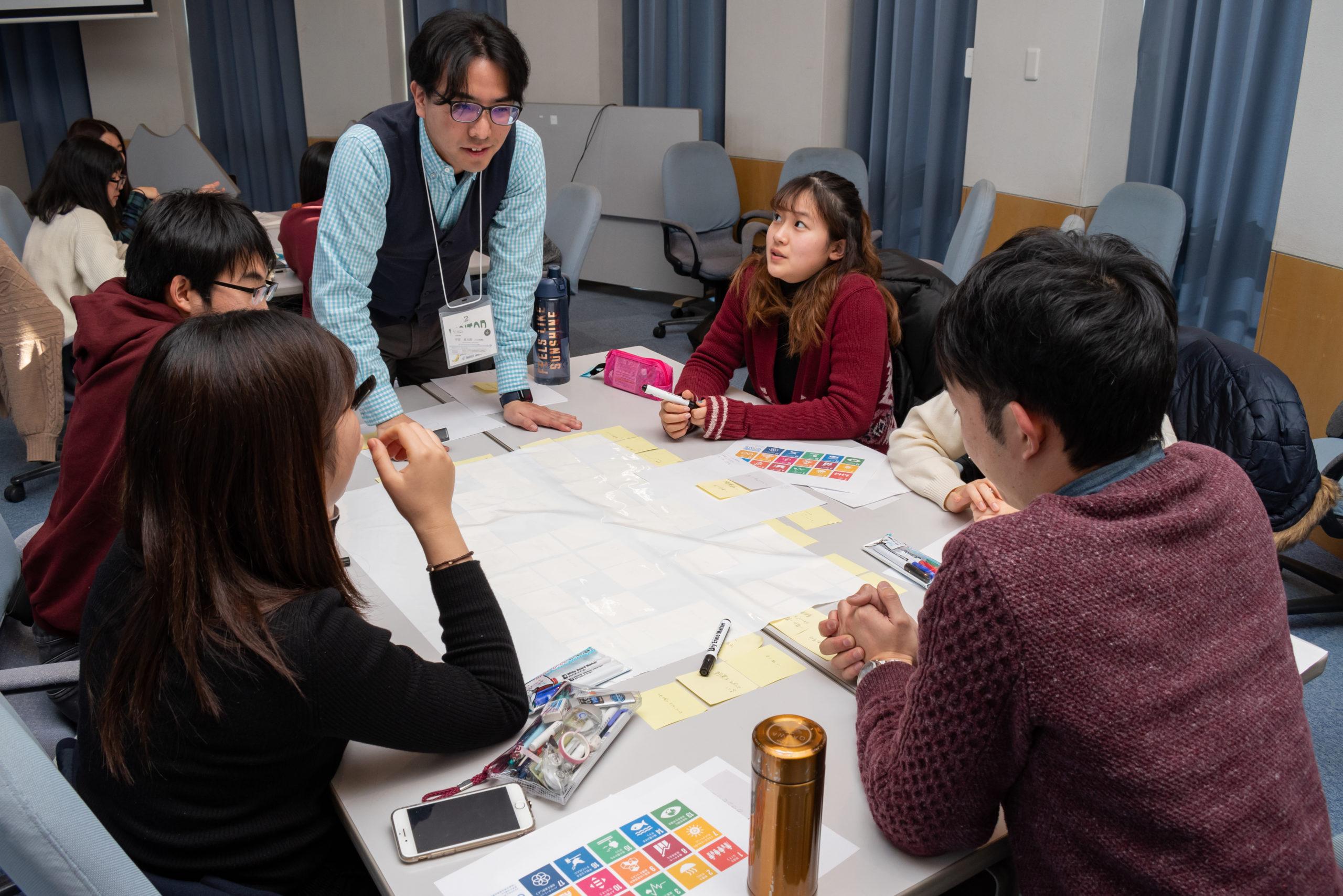 関西学院千里国際高等部でSDGsをテーマにしたWSを実施
